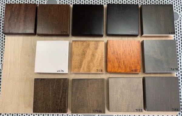 Cabinet Bed Colours