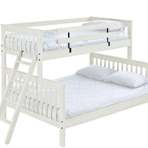 Twin XL over Queen bunk bed - Hand made in Canada