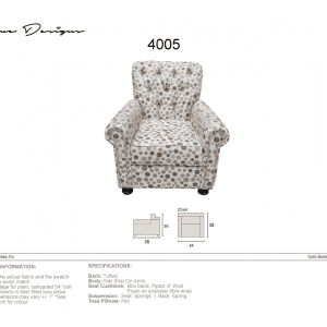 4005 Chair - Made in Canada