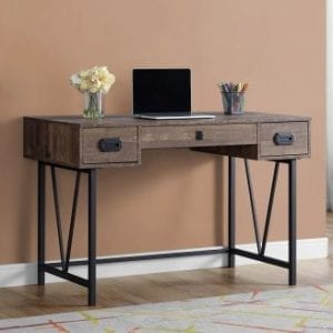 Q029 BROWN DESK