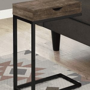 C-Table with storage drawer