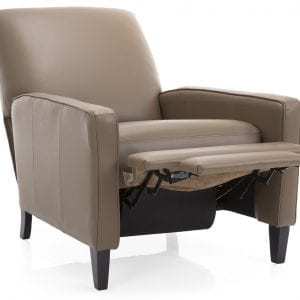 7312 kick back Chair - Hand made in Canada in top grain leather