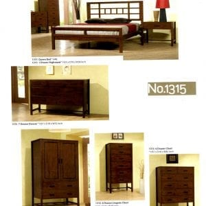 1315 maple bedroom furniture