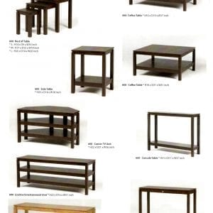 600 solid maple wood occasional furniture
