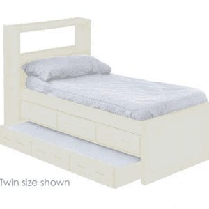 Cloud captains bed 3 drawer and trundle