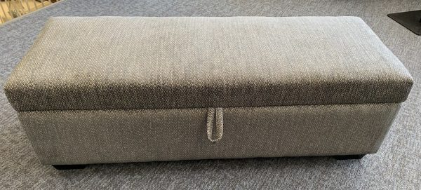 """50"""" ottoman with or without storage - Made in Canada"""